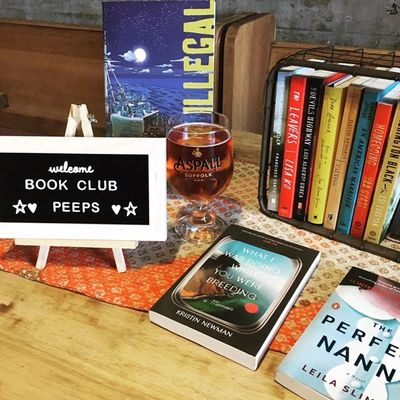 Bel Canto Books book club at Monks Addiction in Huntington Beach CA