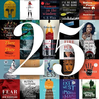 top 25 bestselling audiobooks of 2018 from Libro.fm