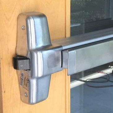 Panic Device, Commercial Locksmith, Door repair,