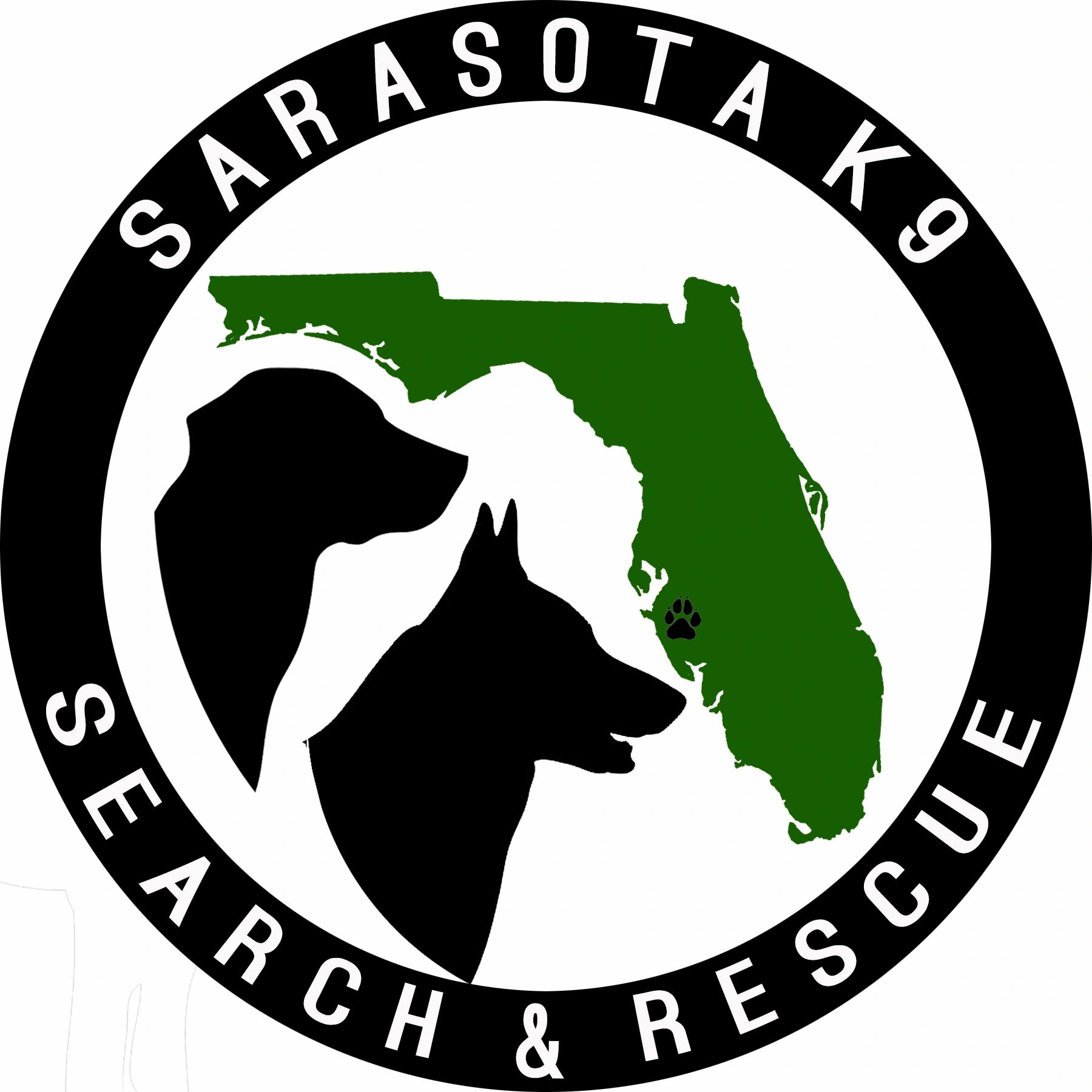 Sarasota K9 Search & Rescue logo