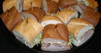 Catering Menu, Sandwich Trays, Delivery