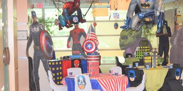 Avengers kids Party