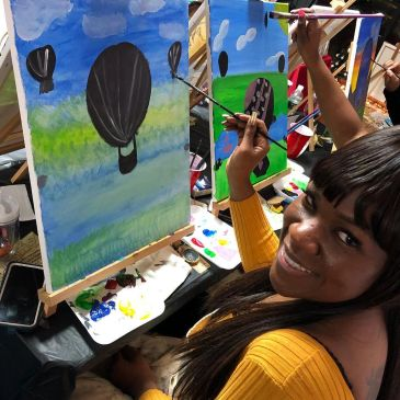 Fun Art Adult Paint Party  Art Paint Night Sip and Paint Mobile Art Studio Party on the Go