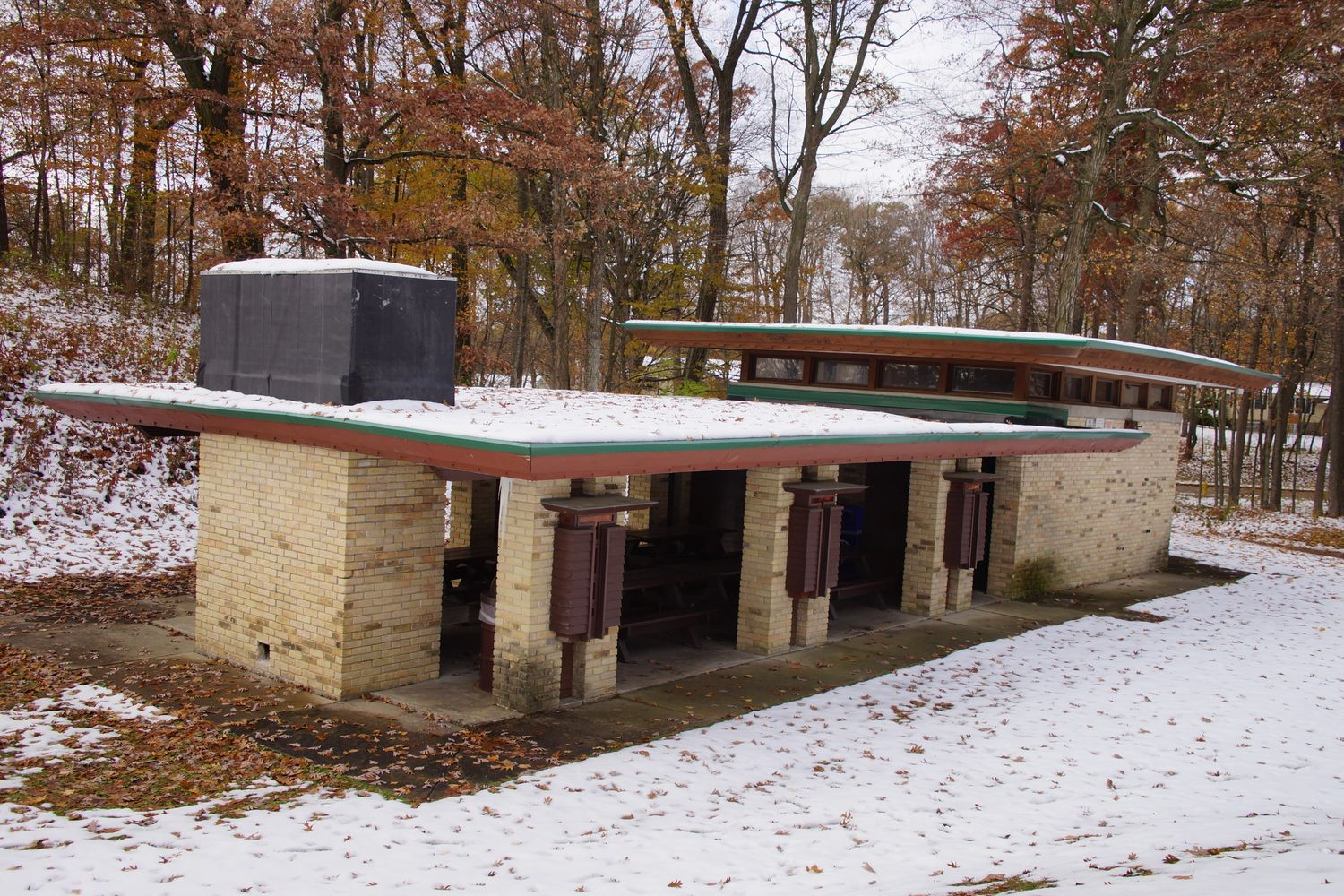 Picnic pavilion done by the SAA 50 years ago!