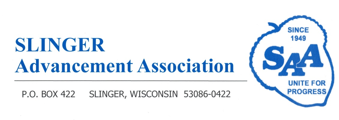 Slinger Advancement Association