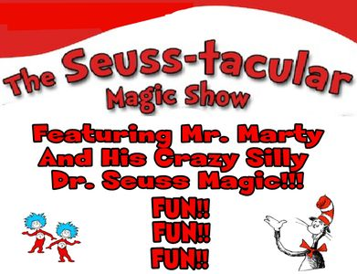 The Dr. Seuss Magic Show is the perfect answer in celebrating Dr. Seuss.