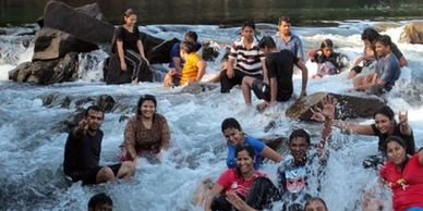 Jacuzzi in Dandeli is a best relaxing activity in Kali river