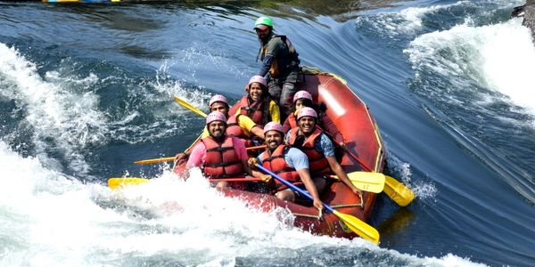 The Dandeli river rafting is for everyone, from swimmer to non-summer River rafting in Dandeli
