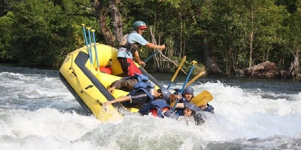 DANDELI RIVER ACTIVITIES, Dandeli River Rafting adventure recreational activity.