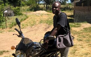 HBM Zambia Pastor and new motorcycle