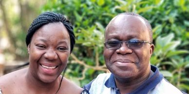 Allan and Delphine oversee the ministry at the Musenga Development Center in Zambia.