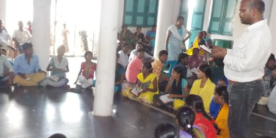Teaching the Disciple Makers Program in India