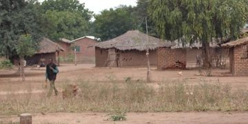 Malawi village where Hope Builders Ministries is partnered with local pastor