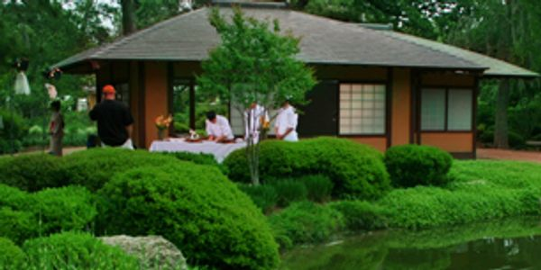 Hermann Park, Japanese Garden, Tea House