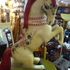 Ornate carnival horse, paper mache and painted
