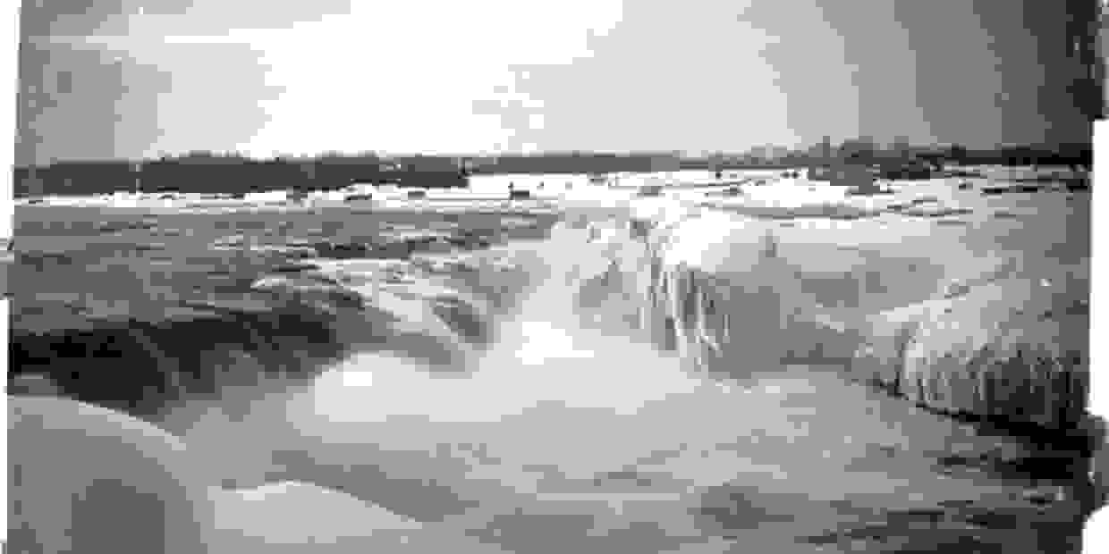 Chaudiere Falls, 1887, William James Topley, LAC, PA-008423