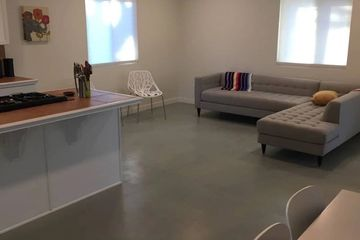 Interior ans Exterior stained concrete applications available.