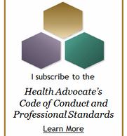 Patient Advocate, Code of Conduct