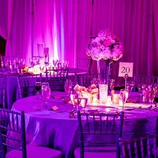 Massachusetts and New Hampshire upLighting for Weddings, Proms and Corporate events.
