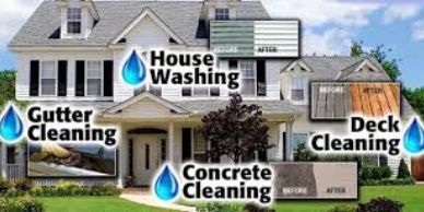 RESIDENTIAL HOUSE WASHING AND DRIVEWAY POWER WASHING IN YOUR AREA
