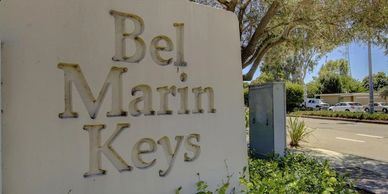 Bel Marin Keys sign