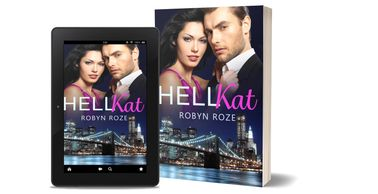 eBook and paperback book cover with NYC skyline and an attractive couple on the cover.