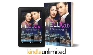 Couple in dress clothes above bridge and nighttime cityscape on e-book and paperback covers