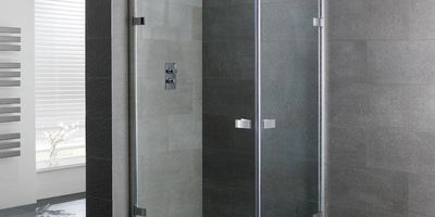 frameless shower enclosure boston