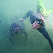 manatee, fitness, freediving, fun, positive, love, jon sims, funcional, training, motivational