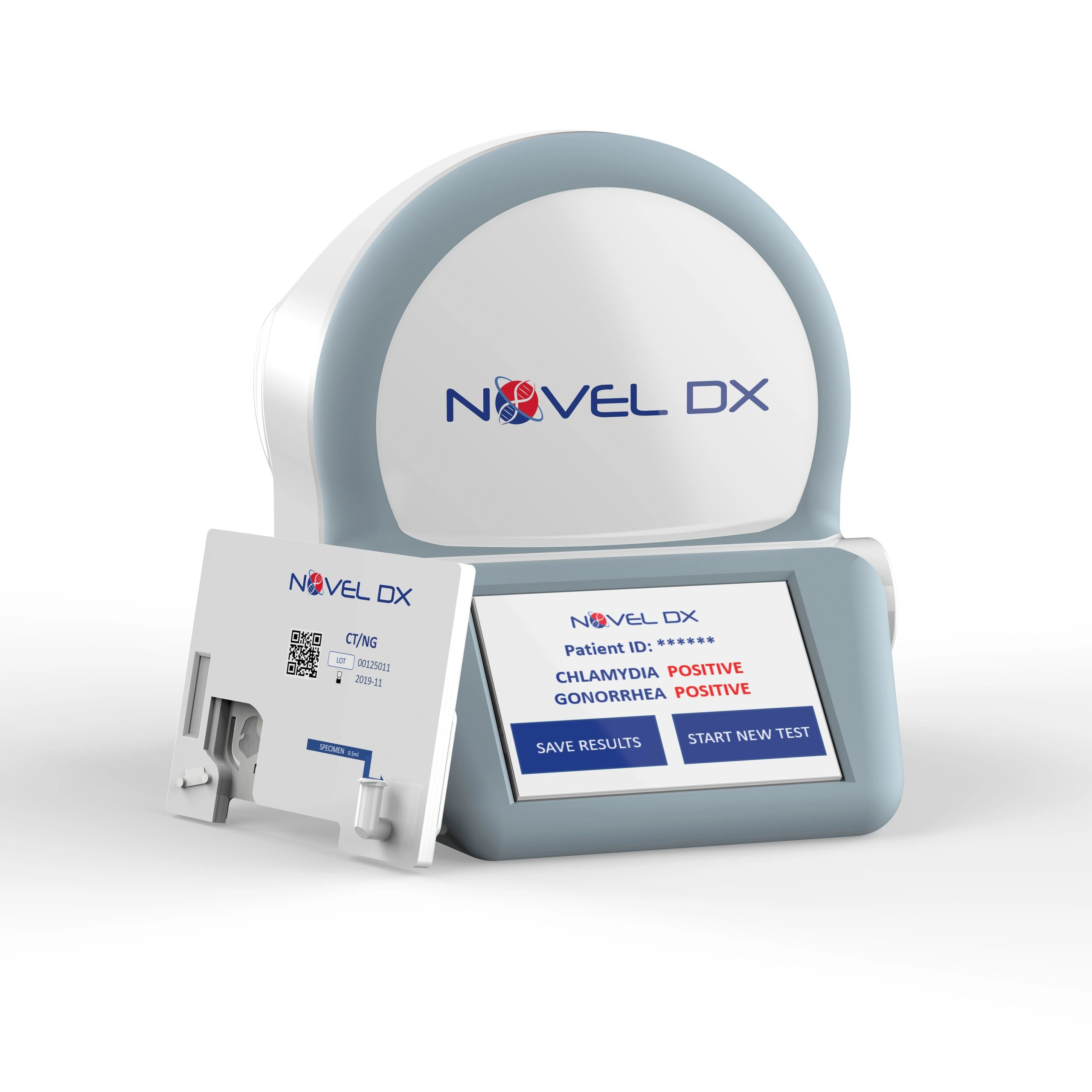 Novel Dx Ct/Ng, NovelDx, Rapid Molecular Diagnostics, Ultraportable
