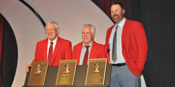 Dave Bristol, Fred Norman and Adam Dunn get inducted into the Reds Hall of Fame.