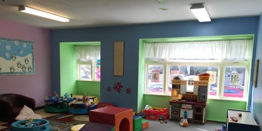 Our child minding room