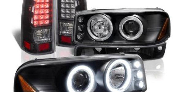 led off road lights kit jeep chevy ford custom lights taillights after market lights led hid