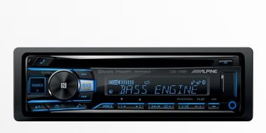 car radio car stereo car audio cd player Bluetooth radio