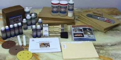 Granicrete's proven Online Training Kits for Original Countertop and Floor Overlays.