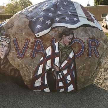 Come visit the Freedom Rock!