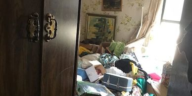 We deal with hoarders all the time.  Its difficult but our staff understands and is compassionate.