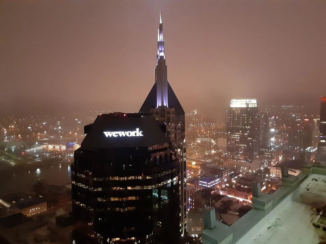 Not New York, we have settled the studio offices in downtown Nashville and a perfect choice it is; G