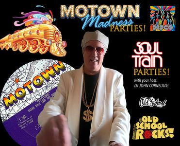 Specializing in Soul Train/Motown parties!