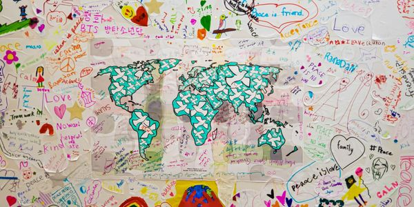 What does Peace means to you? - A community mural project
