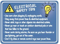 Choctaw Electric Cooperative Hugo, Idabel, Antlers, Oklahoma  outdoor safety