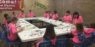 Choctaw Electric Cooperative Hugo, Idabel, Antlers, Oklahoma Killowatt kids camp summer camp safety