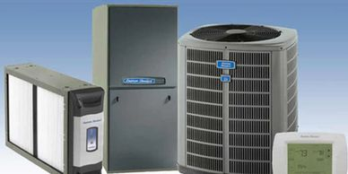 American Standard air HVAC equipment