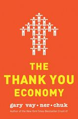 The Thank You Economy Book Cover.