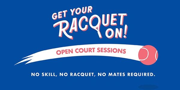 Tennis Adelaide Get Your Racquet On; Open Court Sessions Tennis Adelaide; Open Court Greenacres Tenn
