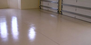 Epoxy garage floor installations in salem Oregon