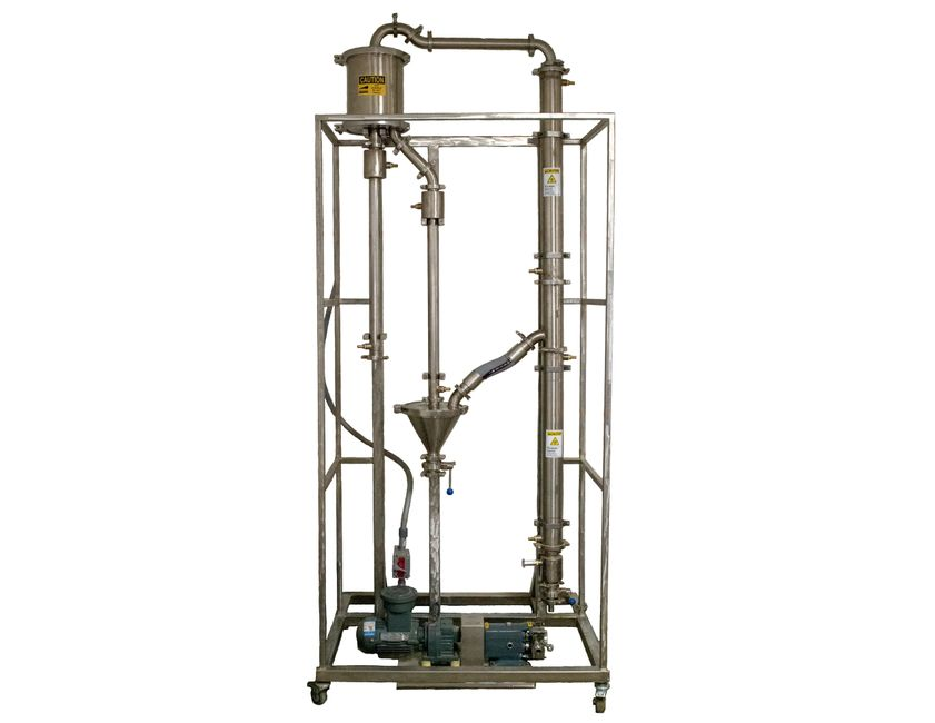 The Arcanna Rising-Falling Film Evaporator, Solvent Recovery