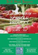 Come and enjoy a night of excellent local Norfolk produce, featuring our traditional smoked salmon.