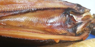 Staithe Smokehouse oak smoked kippers.