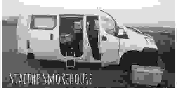 Our Staithe Smokehouse delivery van.